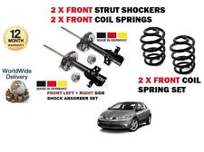 FOR HONDA CIVIC 2006-> 2 x FRONT SHOCK ABSORBER SET + 2 X COIL SPRINGS KIT