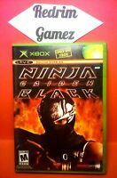 Ninja Gaiden Black XBOX Video Games