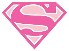 Supergirl # 10 - 8 x 10 Tee Shirt Iron On Transfer pink logo