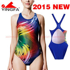 NWT YINGFA 612 COMPETITION TRAINING RACING SWIMSUIT XXL US MISS 10-12 SIZE 34/36