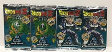 Dragon Ball Z CCG Lot of Four Cell Saga Unlimited Booster Packs Sealed Score TCG
