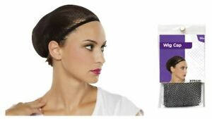 One Size Elastic Breathable Stretchable Wig Cap Polyester Hair Net Weaving Snood