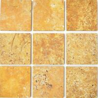 Naturstein Wand Boden Fliese Gold  Antique Travertine Marmor|F-45-51010