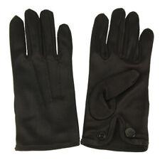 Boys Kids Children Nylon Plain Stretchy Formal Dressy Wrist Gloves