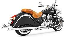 Freedom True Dual Headers Exhaust w/ Sharktail Tip Indian Vintage Classic Chief