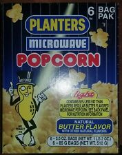 Planters Microwave Popcorn Nib With A Small Tear Pictured