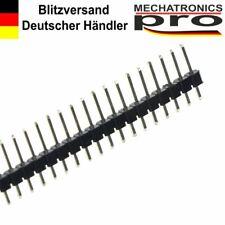 """2 Pin Pin Intestazione Striscia PCB 0.1/"""" 2.54mm per montaggio sperimentale Arduino pacco da 1-10"""
