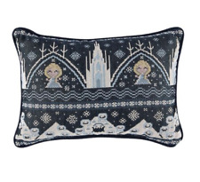 Disney Parks Authentic Epcot Frozen Ever After Dual Sided Woven Throw Pillow