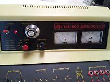 circuit evaluator IDL-600 solderless breadboard voltage, current, potentiometer.