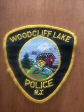Vintage Woodcliff Lake New Jersey Police Patch