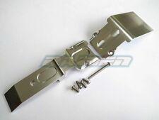 Traxxas 1/10 REVO REVO3.3 E-REVO SUMMIT Alloy Aluminum FRONT SKID PLATE Silver