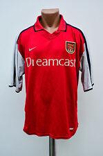 ARSENAL LONDON 2000/2001/2002 DREAMCAST HOME FOOTBALL SHIRT JERSEY MAGLIA NIKE