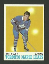 Brit Selby Toronto Maple Leafs 1970-71 Topps Hockey Card #111 EX/MT