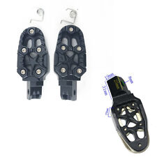 Aluminum Motorcycle Footrests Foot Peg Mount Pedals for Dirt Bike Star Styling