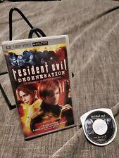 Resident Evil Degeneration PSP UMD
