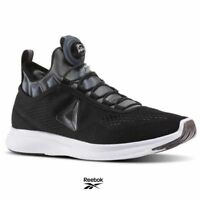 Reebok Pump Plus Casual Running Shoes Sneakers BD4866 Black Gray White SZ 4-12.5