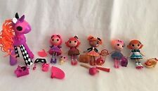 "MGA Lalaloopsy Doll 3"" Original w/ Accessories Lot 19 Pcs. For Girl's Toy"