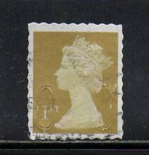 1st Class Security Machin WAVY LINE PERFS - Fake/Forgery - Fine Used Scarce