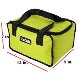 Ryobi 903209066 Green Tool Bag 7 x 9 x 12 inch Fits CSB143LZK Circular Saw P4221