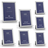 Plain Satin Silver Photo Frame Certificate Home Decorations Gifts