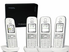 Siemens Gigaset C610H DECT téléphone sans fil avec Aton CL303 Quattro 4 er SET /