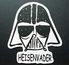 """Sticker Decal Matt Finish """" Heisenvader """" Laptop, Smartphone, Stickerbomb"""
