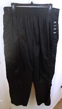 Vtg 90s Nike Tearaway Breakaway Button Nylon Windbreaker Pants Black Soccer XXL