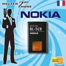ERSATZBATTERY NOKIA  BL-5CB OEM 800mAh 3,0Wh 3,7V ORIGINAL AKKU ACCU BATTERY