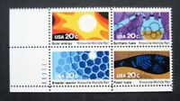 Sc # 2006-2009 ~ Plate # Block ~ 20 cent Knoxville World's Fair Issue (dg1)