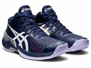 Asics SKY ELITE FF MT Womens Ladies Volleyball Indoor Lace Up Shoes Trainers