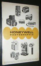Honeywell Photographic Product Guide Pentax Elmo Nikor Rollei Sytobonars 1986 PB
