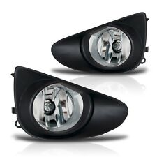 2012-2014 Yaris 2/4Dr Fog Lights w/Wiring Kit & Wiring Instructions - Clear