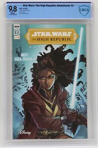 Star Wars The High Republic Adventures (2021) #2 Cover A CBCS 9.8 White Pages