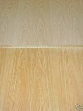 "Red Oak wood veneer 48"" x 120"" with paper backer 1/40th"" thickness ""A"" grade"