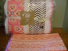Pottery Barn Teen Bedford Quilt Full/Queen & Serena BODY Pillow Cover Sham ~ NWT