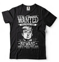 Donald Trump T-shirt Trump 2020 Election Shirt Political T-shirt Wanted Trump T