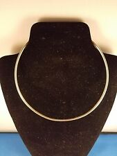 Choker Necklace Sterling Silver 10 inch 2