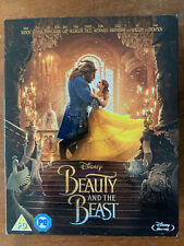 Beauty and the Beast Blu-ray 2017 Live action Walt Disney Movie w/ Slipcover