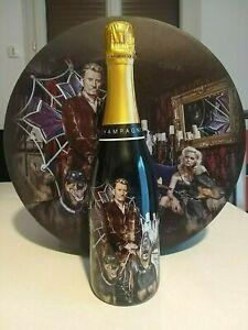 Coffret Champagne Los Angeles Johnny Hallyday