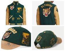Polo Ralph Lauren Tiger Varsity Letterman Jacket Vintage CP93 Hi Tech Size XXL