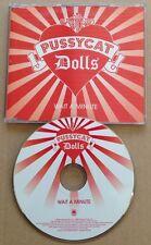 Pussycat Dolls - Wait A Minute UK Promo Cd Ultra Rare! 2006 Nicole Scherzinger
