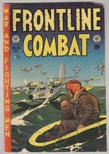 Frontline Combat #14 October 1953 G/VG Wood, Kubert, Evans, Davis
