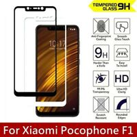 For Xiaomi pocophone F1 9H Full Cover Tempered Glass Screen Protector Cover 3D