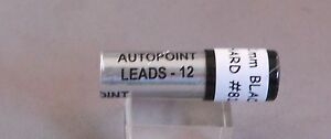"Autopoint Lead 1.1 mm short leads 1-3/8""- H--fits many vintage pencils"