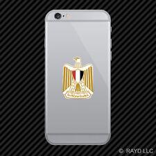 Egyptian Coat of Arms Cell Phone Sticker Mobile Egypt flag EGY EG