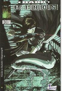 °DARKMINDS #3 °Generation Comics in German 1999 Science Fiction Thriller
