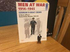 Del Prado Men at War 1914-1945, #18, German U-Boat Officer 1914-18, fig/book