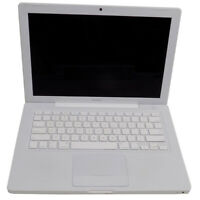 "Apple MacBook 13"" White 09 Laptop Intel Core 2 Duo 2.0Ghz 4GB 120GB Snow Leopard"