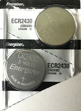 2 New ENERGIZER CR2430 Lithium 3v Coin Batteries Australia Stock FAST SHIPPING