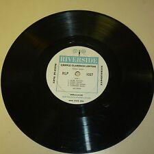 "BOOGIE WOOGIE BLUES 33RPM 10"" RECORD - CRIPPLE CLARENCE LOFTON - RIVERSIDE 1037"